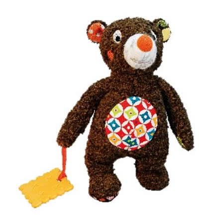 法國ebulobo熊抱抱布娃娃固齒器