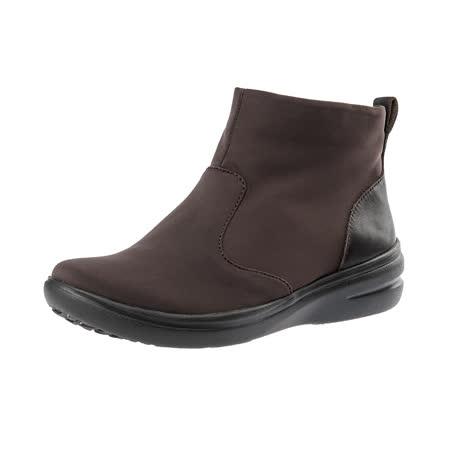 【Kimo德國手工氣墊鞋】簡約設計彈性輕質舒適短靴(城市棕K15WF071178)