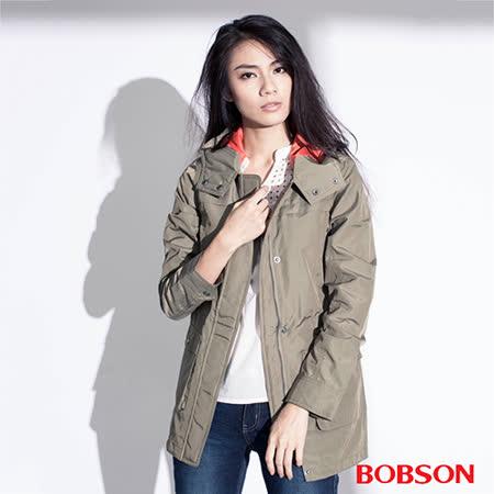 BOBSON 女款單層防風外套(35102-40)