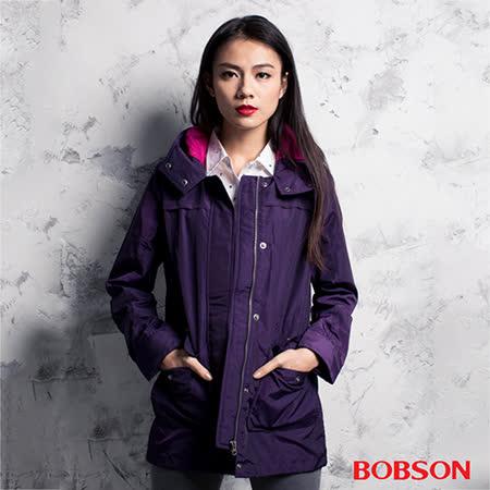 BOBSON 女款單層防風外套(35102-62)
