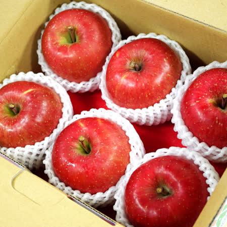 【鮮果日誌】日本空運青森蜜蘋果(6入禮盒)