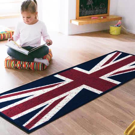 范登伯格-旗威 英國國旗走道毯/長地墊-44x130cm