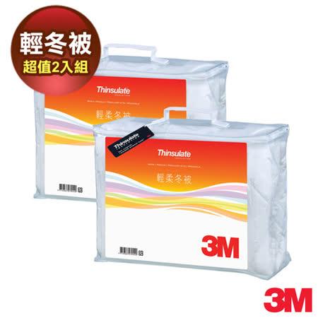 3M Thinsulate可水洗輕柔冬被Z370 標準雙人(6x7) 2入組