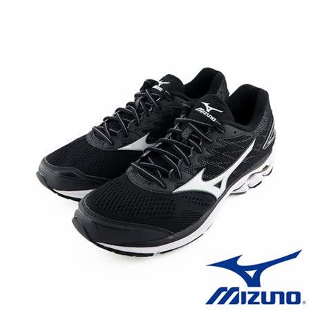 Mizuno 美津濃 RIDER 20 男慢跑鞋 運動鞋 (黑) J1GC170301