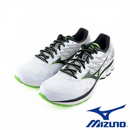 Mizuno 美津濃 RIDER 20 男慢跑鞋 運動鞋 (白X黑) J1GC170310