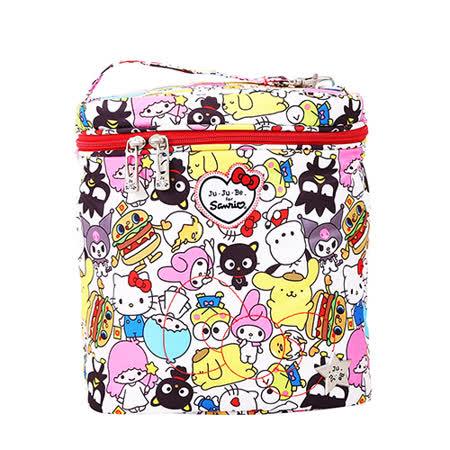 【美國JuJuBe媽咪包】FuelCell保溫保冷袋-Hello Kitty聯名款:Hello Sanrio 三麗鷗,全員集合