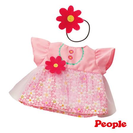 【日本POPO-CHAN】小花薄紗洋裝組合 AI725