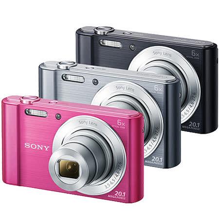 SONY DSC-W810高畫質數位相機(公司貨)-加送16G記憶卡+專用電池+專用座充+清保組+保護貼+讀卡機+小腳架