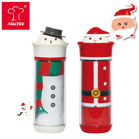 【MULTEE摩堤_鑄鐵鍋系列用品】卡通聖誕隨行杯