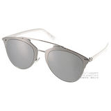 DIOR太陽眼鏡 熱銷飛官款(銀-白水銀) #REFLECTED 85LDC