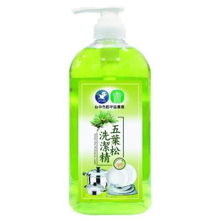 台中市和平區農會 五葉松洗潔精/壓頭1000mlx5瓶
