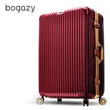 Bogazy 光燦炫影 29吋PC鋁框鏡面行李箱