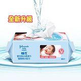 嬌生嬰兒 純水柔濕巾(一般型) 90片x12入