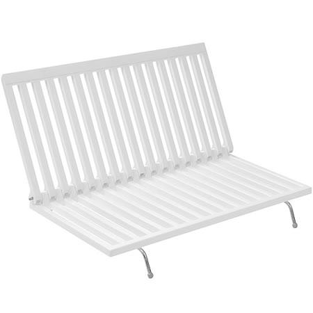 《MADESMART》L型摺疊碗盤瀝水架(白)