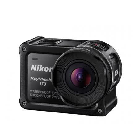 Nikon KeyMission 170 運動攝影機(公司貨)-