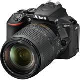 Nikon D5600 18-140mm 旅遊鏡組(公司貨)-加送64G記憶卡+專用鋰電池+專用座充+UV保護鏡+減壓背帶+快門線+遙控器+HDMI線+大清潔組