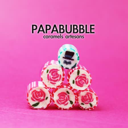 Papabubble-西班牙手工糖(玫瑰花和紳士帽、袋裝、60g)