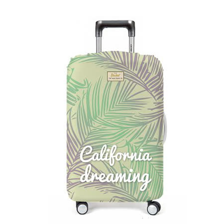 【義大利 Rocket】防水行李箱套 (M)-音樂歌詞 California Dreaming
