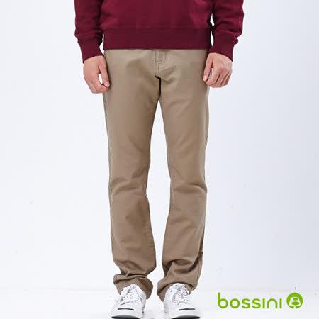 bossini男裝-磨毛保暖褲04淺駝