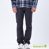 bossini男裝-磨毛保暖褲04暗灰
