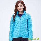 bossini女裝-高效熱能輕羽絨05藍綠