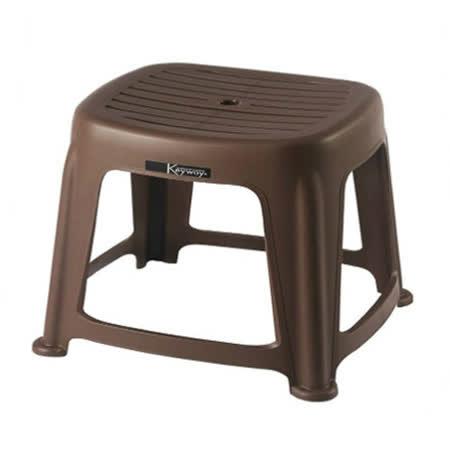 KEYWAY 花園止滑椅RC665-3-咖啡 (33*36*25 cm)