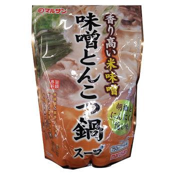 日本丸三限定鍋底味增豚骨鍋750g