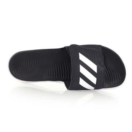 (男) ADIDAS 運動拖鞋-游泳 海灘 海邊 戲水 訓練 愛迪達 黑白