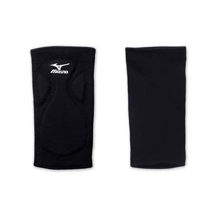 MIZUNO 排球防撞運動護膝-巧固球 手球 一只入 美津濃 黑白 F