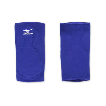 MIZUNO 排球防撞運動護膝-巧固球 手球 一只入 美津濃 藍白 F