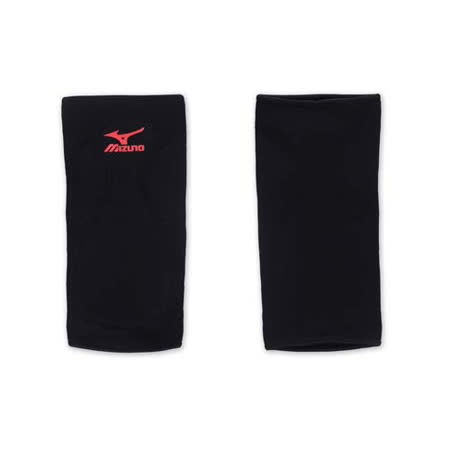 MIZUNO 排球防撞運動護膝-巧固球 手球 一只入 美津濃 黑紅 F