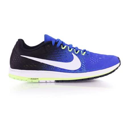 (男女) NIKE ZOOM STREAK 6 路跑鞋-慢跑 訓練 寶藍黑