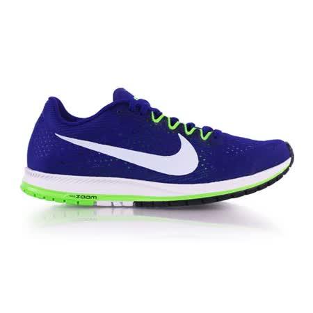 (男女) NIKE ZOOM STREAK 6 路跑鞋-慢跑 訓練 寶藍白