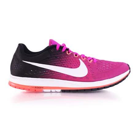 (男女) NIKE ZOOM STREAK 6 路跑鞋-慢跑 訓練 紫橘黑