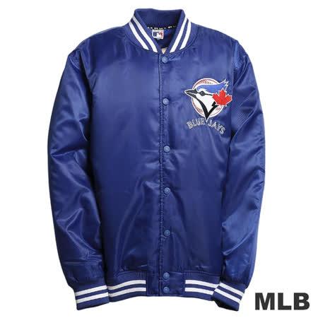 (男)MLB-多倫多藍鳥隊鋪棉棒球外套-藍