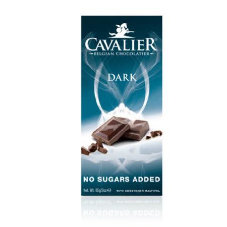 Cavalier 騎士無加蔗糖醇黑巧克力85g