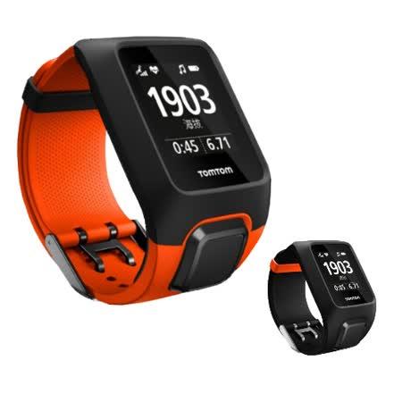 TomTom Adventurer sport 探險者 GPS 戶外運動錶-再送橘色錶帶