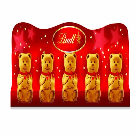 *聖誕限定*Lindt聖誕小熊巧克力50g