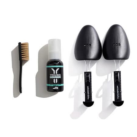 【Y.A.S 】美鞋神器 洗鞋劑60ml+鞋撐-綠茶(AA0042)