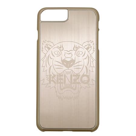 KENZO鋁合金材質虎頭圖案 I phone 7 Plus 手機殼(5.5吋/金色)