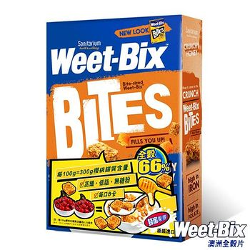 Weet-Bix 澳洲全穀片-MINI蜂蜜口味 (510g/盒)