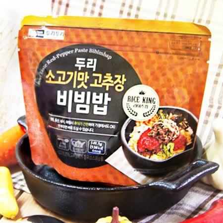 【DOORI DOORI】石鍋拌飯~牛肉風味