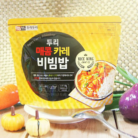 【DOORI DOORI】石鍋拌飯~咖哩風味