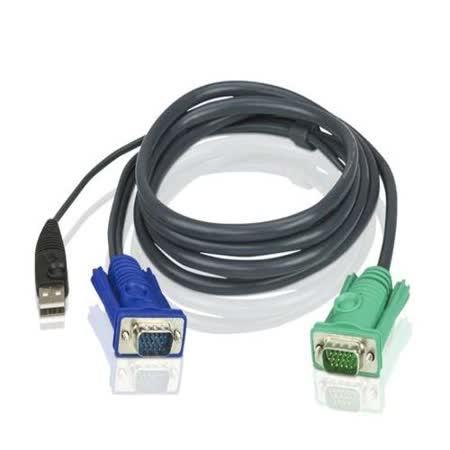 ATEN 2L-5202U USB 介面切換器連接線 1.8M