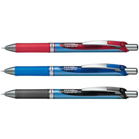 【Pentel 飛龍】BLN75  (藍/黑/紅) 0.5mm 極速鋼珠筆