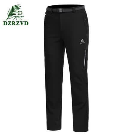 DZRZVD杜戛地【15056鯊魚褲】防風、防水、保暖、軟殼褲【黑色】