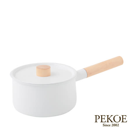 日本Kaico-琺瑯單手鍋(18cm)