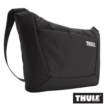 THULE 都樂-多功能15吋筆電郵差包TSB-115-黑(忠欣公司貨)