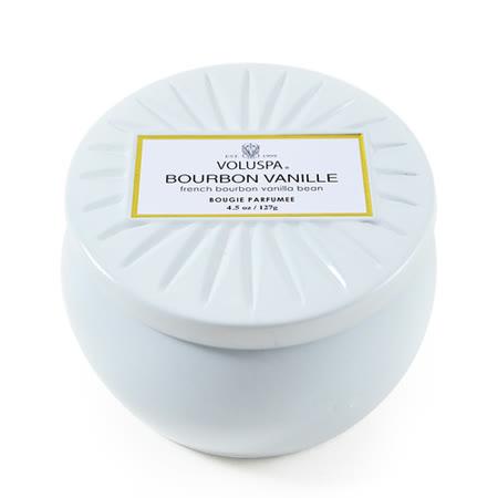 Voluspa 香氛蠟燭 法國波本香草 小鐵罐 127g Bourbon Vanille