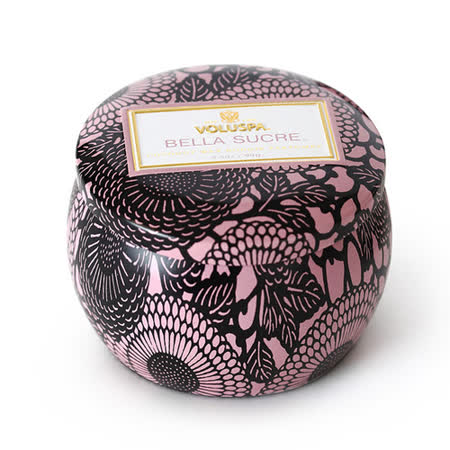 Voluspa 香氛蠟燭 甜心糖球 小鐵罐 113g Bella Sucre
